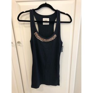 Abercrombie and Fitch Fitted Embellished Tank